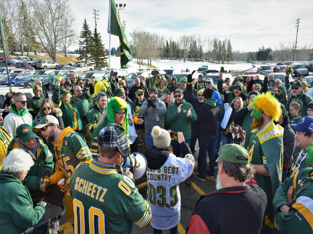 Edmonton Eskimos Fan Rally